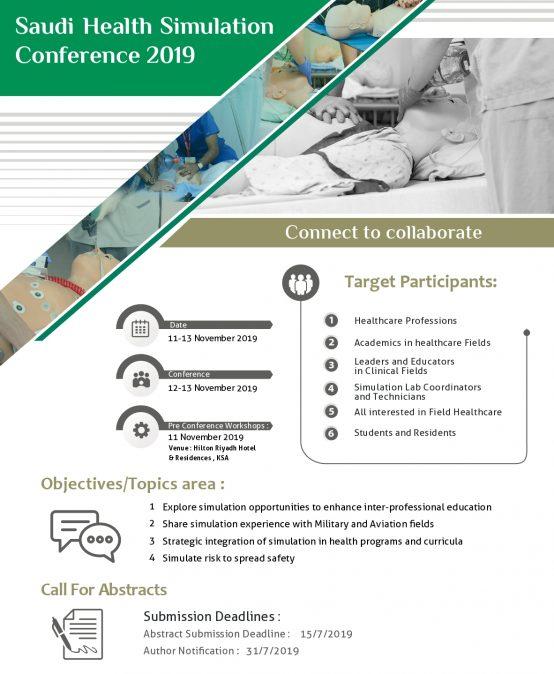 Saudi Health Simulation 2019