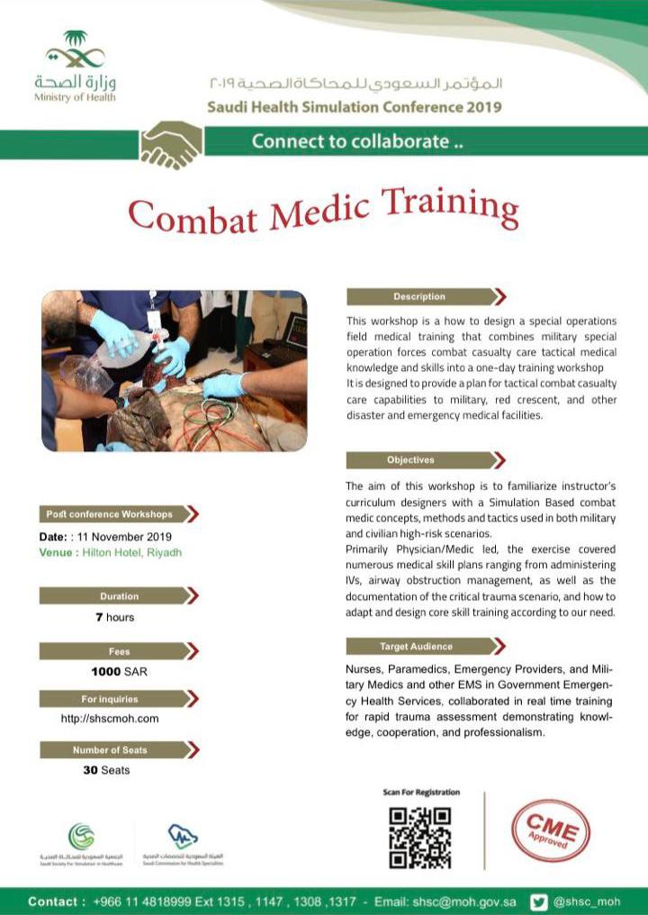 Combat Medic Training